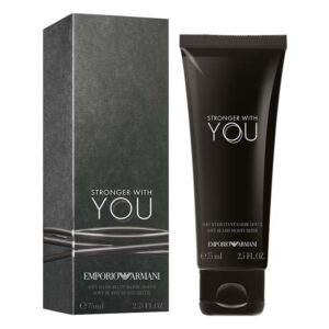 EMPORIO ARMANI STRONGER WITH YOU Soft Beard Mosturizer trattamento barba 75ml