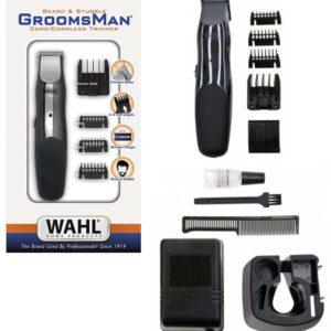 WAHL GROOMSMAN Beard & Stubble rasoio regolabarba ricaricabile a batteria