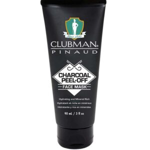 CLUBMAN PINAUD CHARCOAL PEEL OFF Face Mask maschera viso 90ml