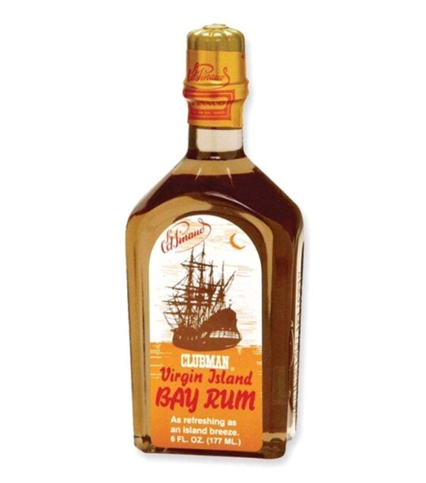 CLUBMAN PINAUD VIRGIN ISLAND BAY RUM After Shave Body Tonic 177ml
