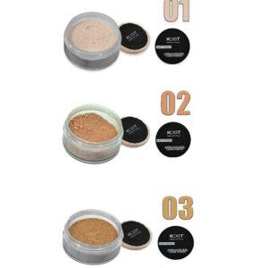 KOST Cipria in polvere last touch per una pelle morbida e naturale N° 1-2-3