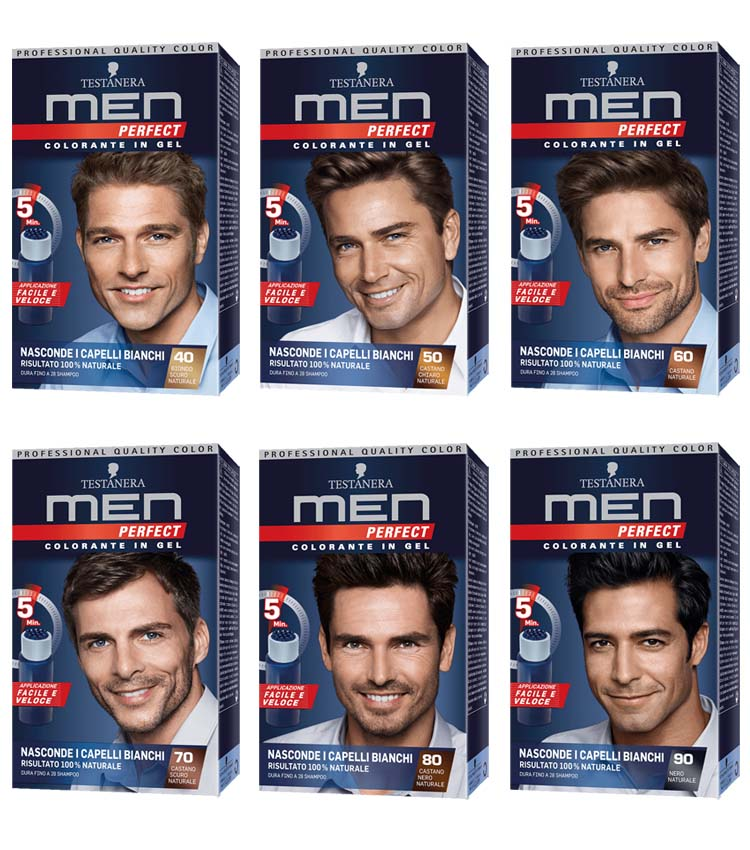 50% off new list the latest TESTANERA MEN PERFECT Colorante in Gel per capelli