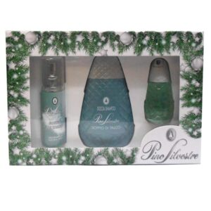 Cofanetto PINO SILVESTRE SOFFIO DI TALCO edt 75ml + deodorante spray 100ml + doccia shampoo 250ml