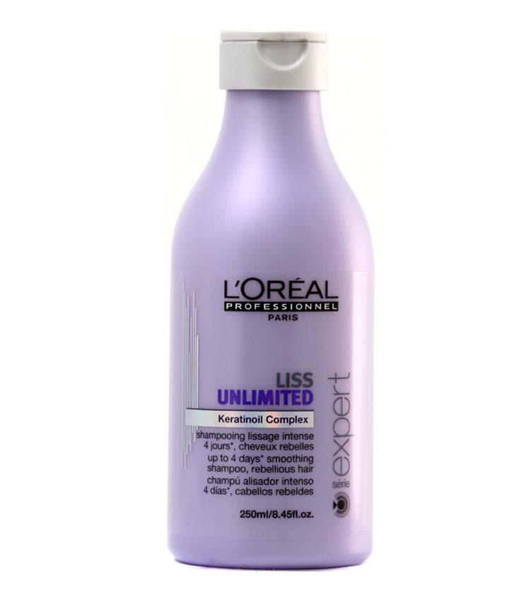 Shampoo per capelli lisci