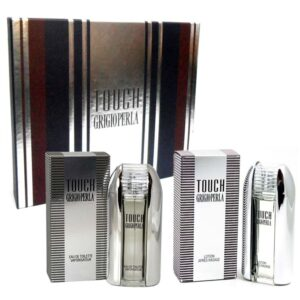 Cofanetto uomo GRIGIOPERLA TOUCH edt 50ml + after shave lotion 50ml