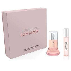 Cofanetto LAURA BIAGIOTTI ROMAMOR edt 25ml for her + edt 10ml for him