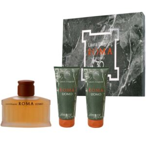 Cofanetto uomo LAURA BIAGIOTTI ROMA UOMO edt 75ml + 2 shower gel 50ml