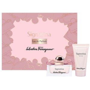 Cofanetto donna SALVATORE FERRAGAMO SIGNORINA edp 30ml + body lotion 50ml