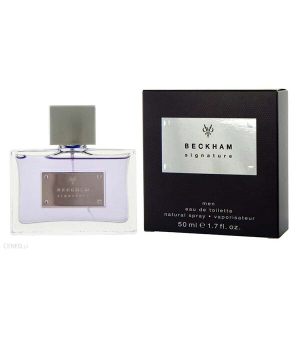 DAVID BECKHAM SIGNATURE edt 50ml uomo