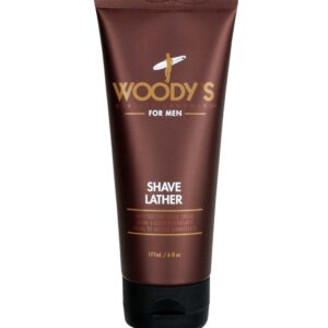 WOODY'S FOR MEN Shave Lather schiuma da barba 177ml