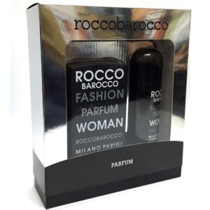 Cofanetto donna ROCCOBAROCCO FASHION PARFUM WOMAN edp 75ml + deodorante spray 150ml