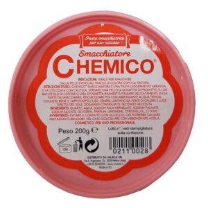 SMACCHIATORE CHEMICO Pasta Smacchiatrice per uso Cutaneo 200gr