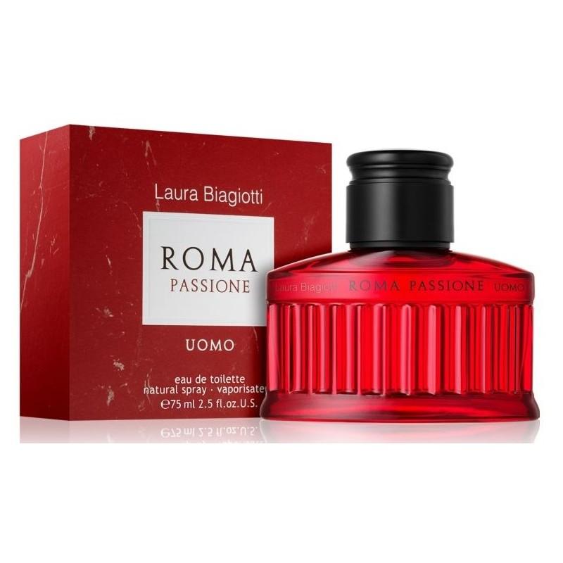 laura biagiotti profumo roma passione