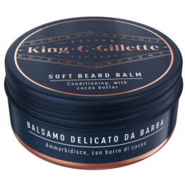King C Gillette Soft Beard Balm Balsamo delicato da Barba